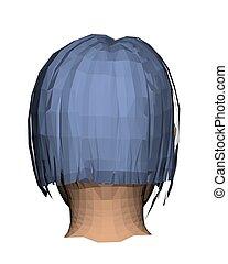 dziewczyna, głowa