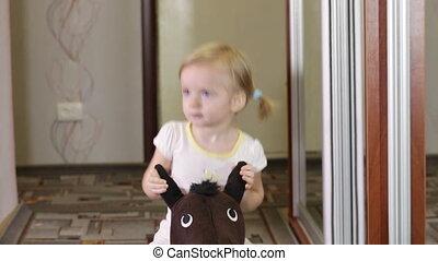 dziewczyna, koń