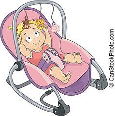dziewczyna niemowlęcia, biegun