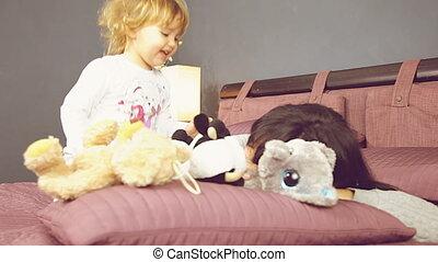 dziewczyna niemowlęcia, interpretacja, macierz