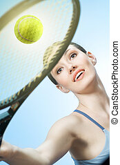 dziewczyna, sporty