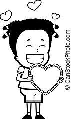 dziewczyna, valentine
