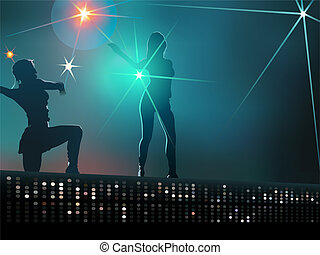 dziewczyny, taniec