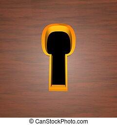 dziurka od klucza