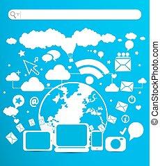 e- ビジネス, 技術