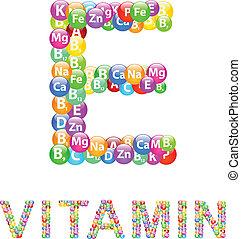 e, ビタミン