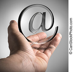 e-メールを送ること, 解決, マーケティング