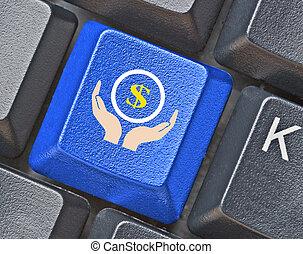 e-affaires, clavier, clã©