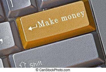 e-affaires, clavier