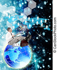 e-affaires, internet, technologies
