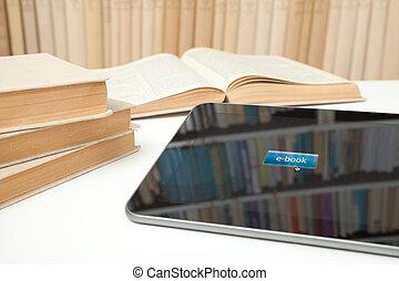e- aprendizaje, libro electrónico