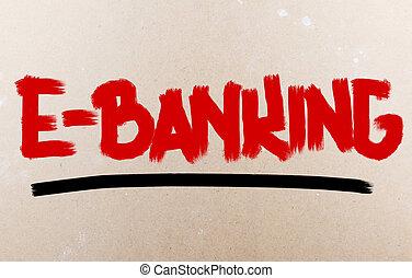 E-banking Concept