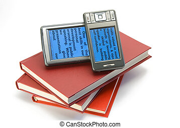 e-book And books