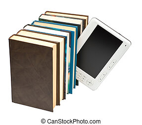 E-book and paper book - ebook and the paper book it is ...