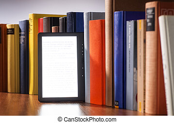 E-book and printed books - E-book between a number of...