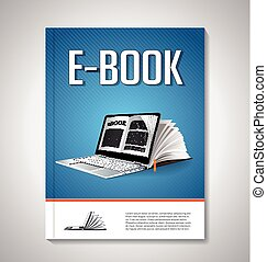 E-book cover design