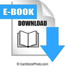 E-book download icon