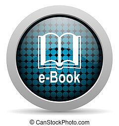 e-book glossy icon