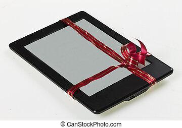 E-book reader like present