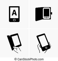 E-book readers - Set of E-book readers