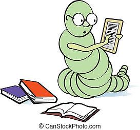 E-Bookworm - Former bookworm who has become an e-bookworm.