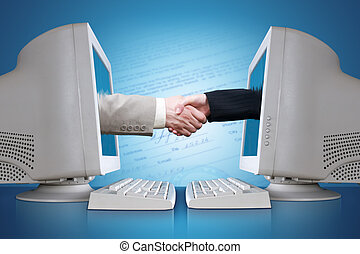E-business - The conclusion of the contract through the...