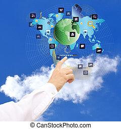 e-business., internet, newest