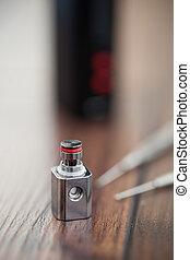 e-cig, felteker, javuló, kanthal, vaporizer
