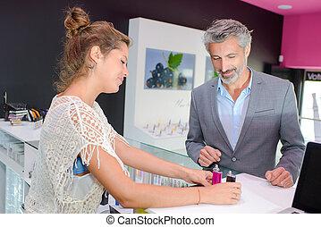 e-cigarette, negozio