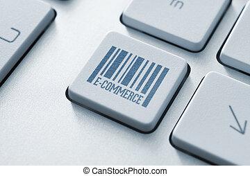 e-commerce , κουμπί