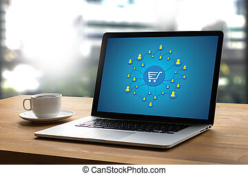 E-Commerce Add to Cart Online Order Store Buy shop Online...