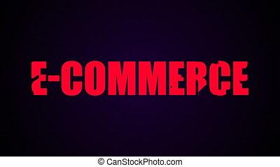 e-commerce, animation, text., liquide, fond