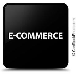 E-commerce black square button