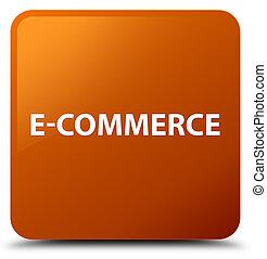 E-commerce brown square button