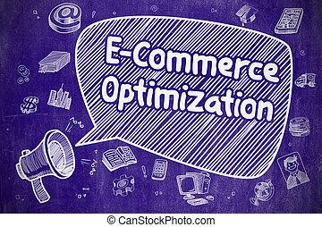 e-commerce, concept., optimization, -, business