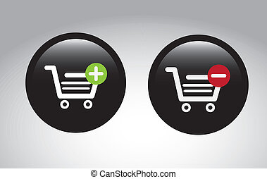 e-commerce design over gray background vector illustration