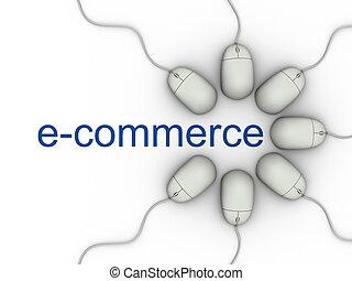 "e-commerce - \\\""E-commerce\\\"" world and computer mouses -..."