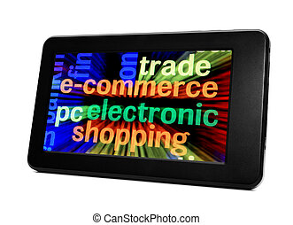 e-commerce electronic pc tablet