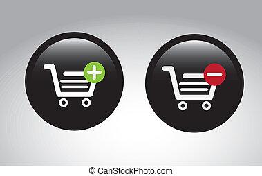 e-commerce design over gray background vector illustration