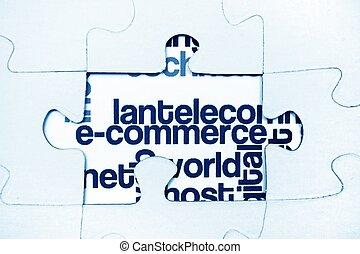 e-, commerce