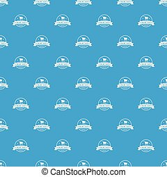 E commerce pattern vector seamless blue