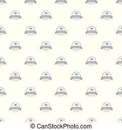 E commerce pattern vector seamless