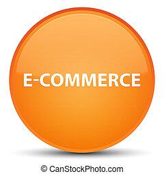 E-commerce special orange round button