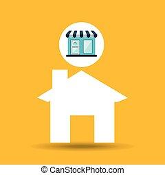 e-commerce store building web page design