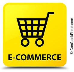 E-commerce yellow square button