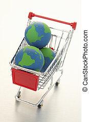 e-commercio, globale