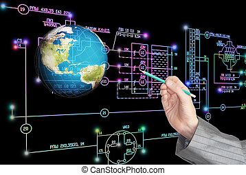 e-connection, 專案, technology.