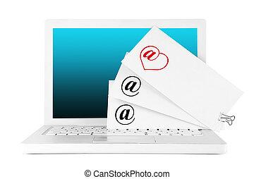 e-, courrier