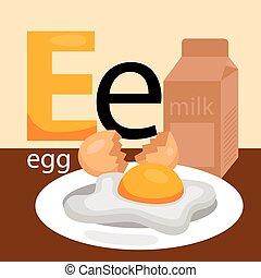 E for Eggs