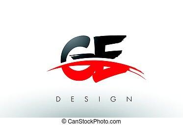 e, g, logo, ge, noir, brosse, swoosh, devant, lettres, ...